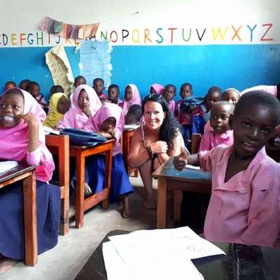 Ana Nedoh želi na Zanzibarju obnoviti vaško šolo. Foto: osebni arhiv Ane Nadoh
