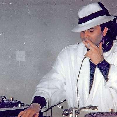 DJ Dejan v elementu   Foto: osebni arhiv Dejana Nastiča