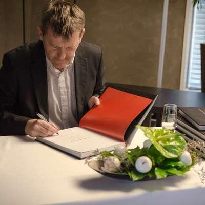 Robert Gorjak, avtor monografije Slovenija, vinska dežela.