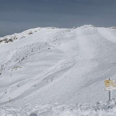 Na Mölltalu nas lahko tudi spomladi razveseli svež snežni pršič. Foto: Igor Mušič