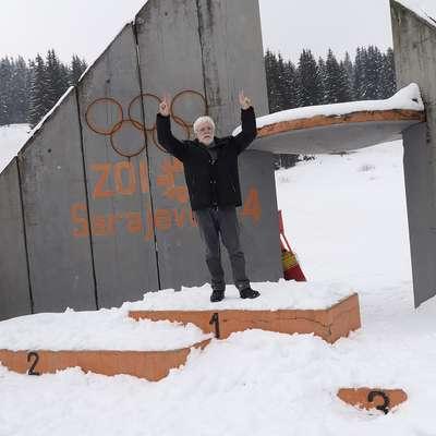Zdravko Primožič se je po 34 letih vrnil na prizorišče olimpijskih iger v Sarajevu.