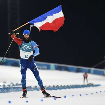 Martin Fourcade je tokrat pokazal svoje mojstrstvo in osvojil peto  olimpijsko kolajno.