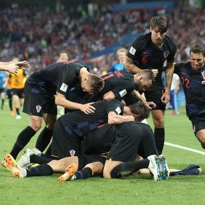 Hrvaška reprezentanca je bila  na svetovnem prvenstvu v Rusiji  trikrat v izgubljenem položaju, a se je vsakič vrnila. Foto: Xinhua/STA