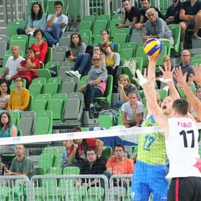 Na pripravljalnih tekmah Slovenije je največ pokazal kapetan Tine  Urnaut. Foto: Igor Mušič
