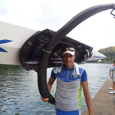 Rajko Hrvat niti na SP v Plovdivu ne bo veslal  v velikem finalu. Foto: Alja Tasi