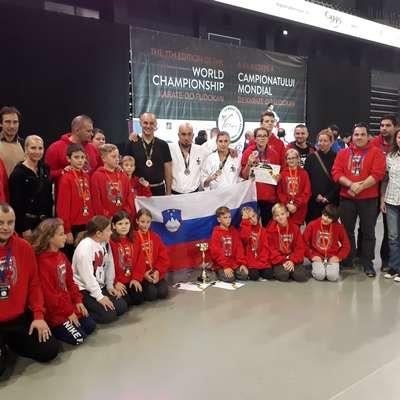 Slovenska reprezentanca je na nedavnem svetovnem prvenstvu osvojila pet odličij.