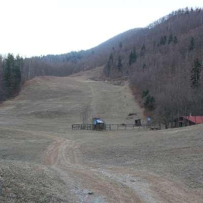 Novi lastnik smučarskih naprav še ni uspel rešiti  razmerij z  državnim skladom kmetijskih zemljišč in gozdov, ki je lastnik  zemljišč, na katerih so (bila) smučišča.   Foto: Veronika R. Ženko