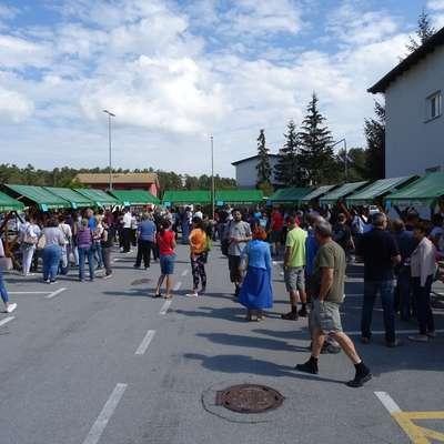 Na zaposlitvenem sejmu  v Hrpeljah se je približno 200 iskalcev  zaposlitve srečalo s predstavniki desetih podjetij z območja  občine.  Foto: Helena Race