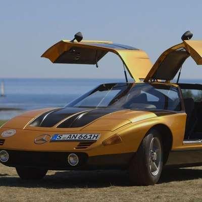 Avto so sestavljali v Unterturkheimu, pod obliko pa se je podpisal  Bruno Sacco, Italijan iz sosednjega Vidma, ki je pozneje 25 let vodil  oblikovalski oddelek Mercedesa. Foto: Mercedes