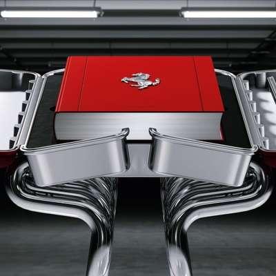 Ferrarijeva knjiga, dražja kot družinski avto