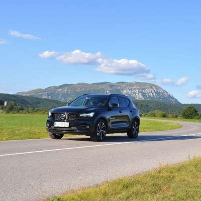 Prihodnje leto bo XC40 postal povsem električni avto. Foto: Peter Pirkovič