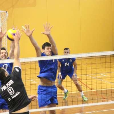Tudi Andraž Paliska (Gen-I Volley, 9) in Saša Gadnik (Salonit,  13) sta med kariero zamenjala klubske strani. Foto: Igor Mušič