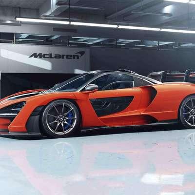 Najzmogljivejši McLaren Senni v spomin