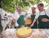 Ekipa LD Lijak je skuhala zmagovalno polento Foto: Leo Caharija