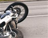 Motorist se je včeraj v prometni nesreči v Kopru hudo poškodoval. Fotografija je simbolična Foto: Danijel