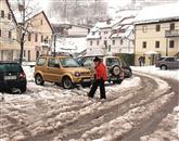Konec sneženja, začetek dežja